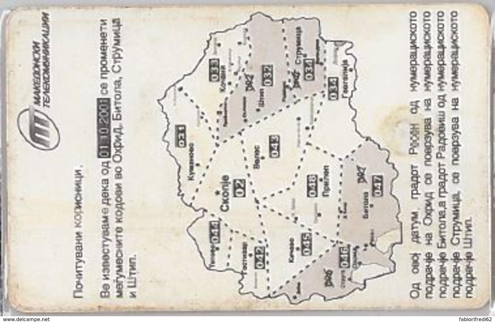 PHONE CARD -MACEDONIA (E41.28.3 - Macedonië