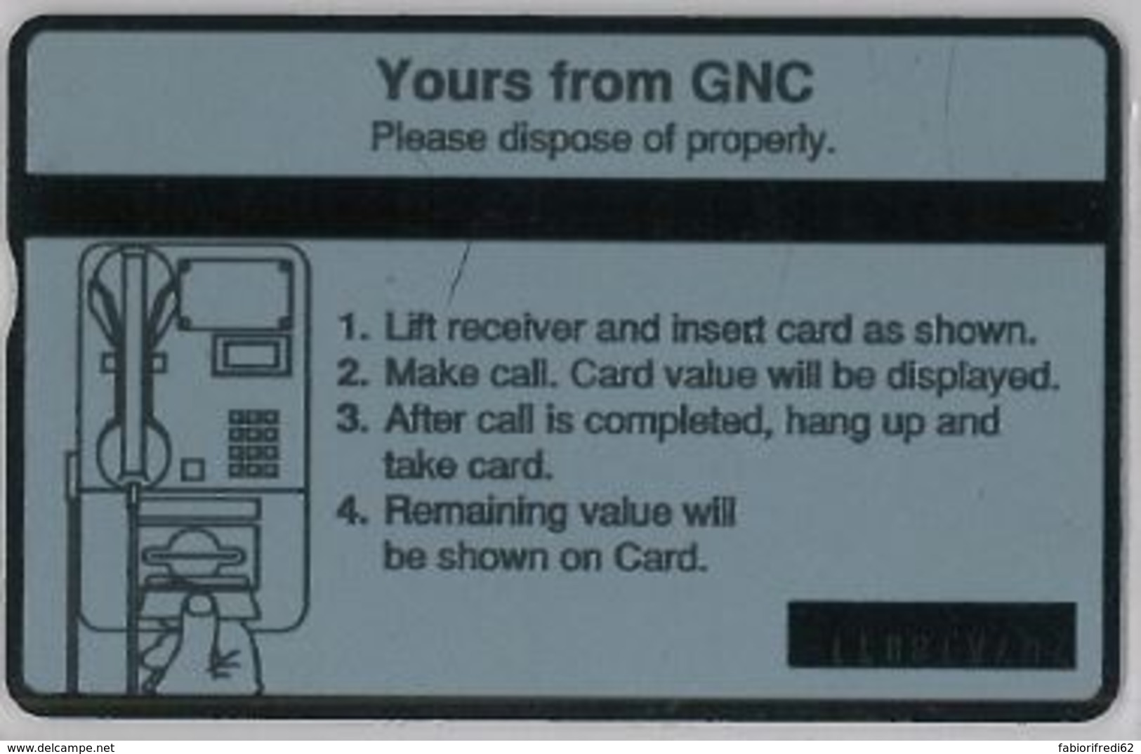 PHONE CARD -GIBILTERRA (E41.29.8 - Syria