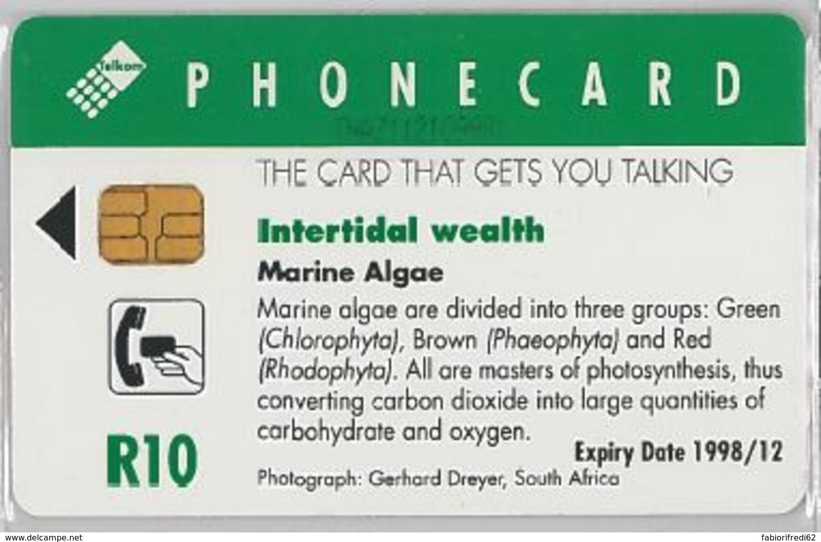 PHONE CARD -SUDAFRICA (E41.35.5 - Zuid-Afrika