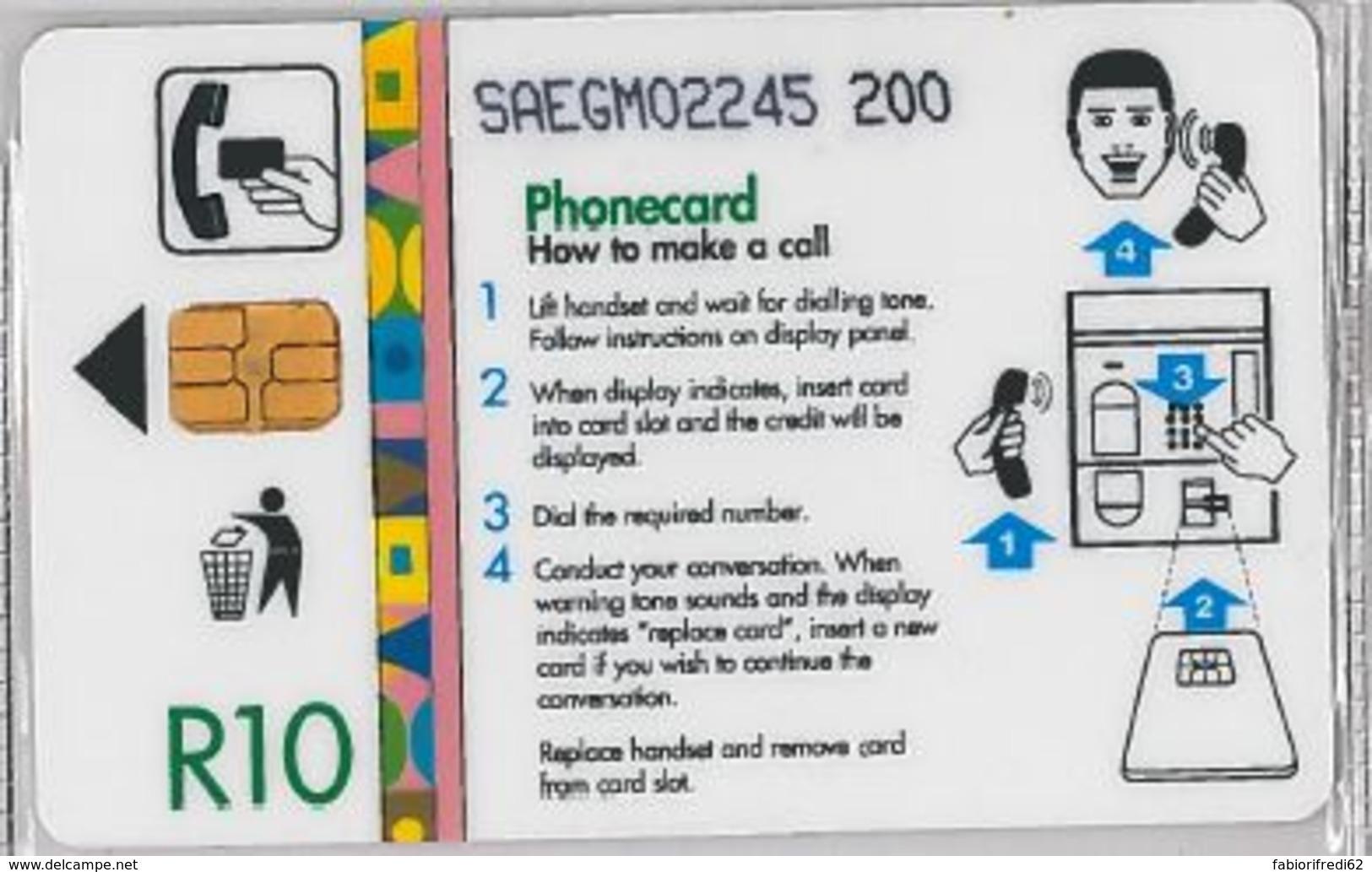 PHONE CARD -SUDAFRICA (E41.35.7 - Südafrika