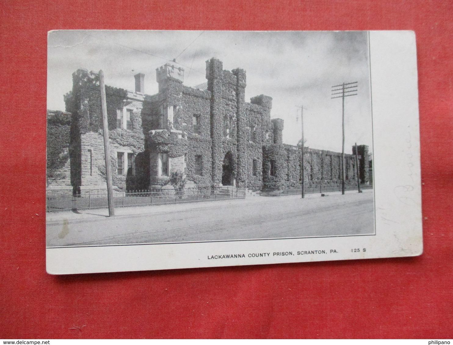 Lackawanna County Prison  Scranton Pa.    Ref 3213 - Prison