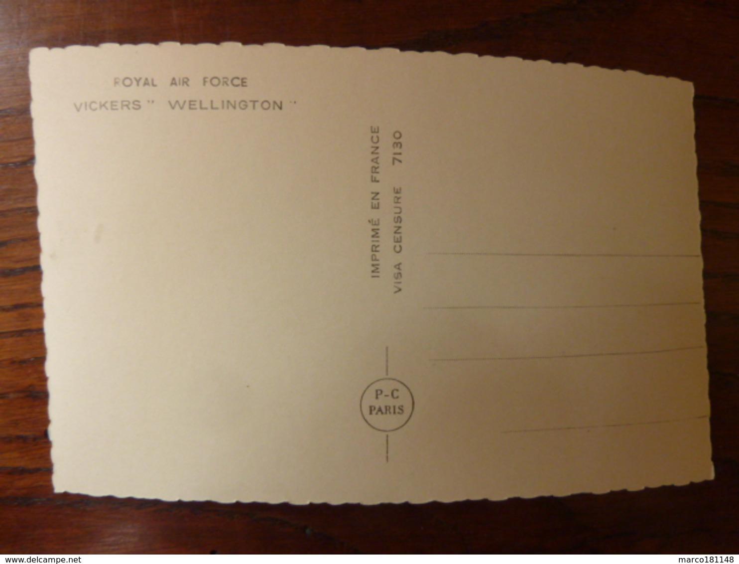 Royal Air Force - VICKERS WELLINGTON - Autres