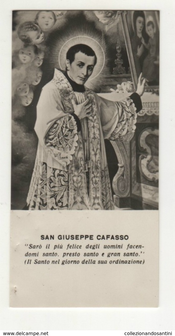 Santino Antico San Giuseppe Cafasso - Religione & Esoterismo