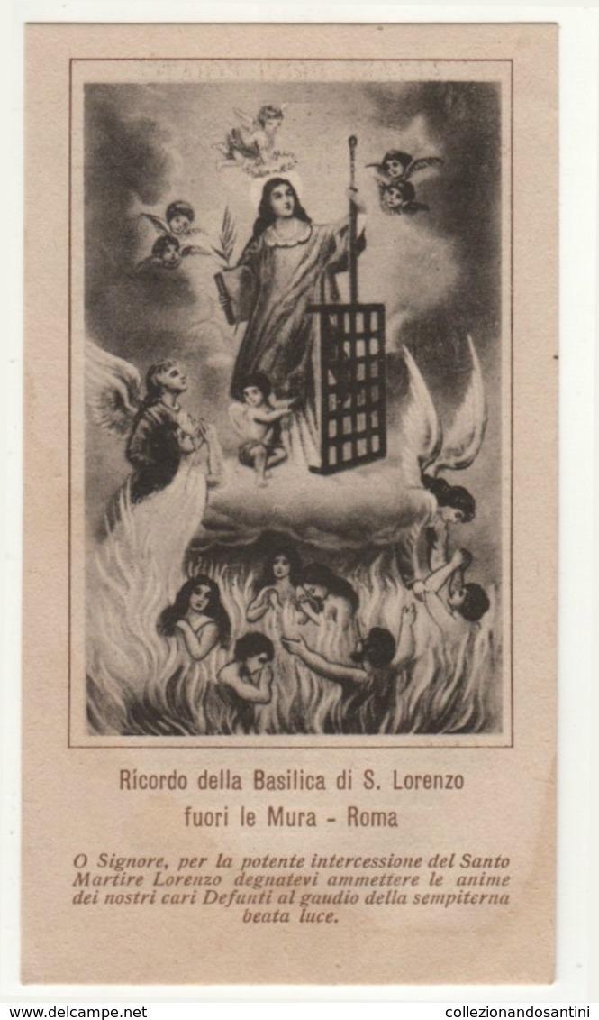 Santino Antico San Lorenzo Da Roma - Religione & Esoterismo
