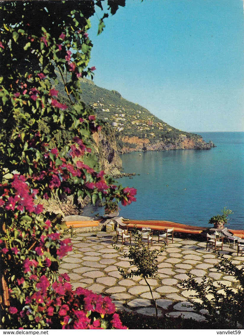 POSITANO-SALERNO-HOTEL=SAN PIETRO= CARTOLINA VERA FOTOGRAFIA VIAGGIATA IL 12-8-1975 - Salerno