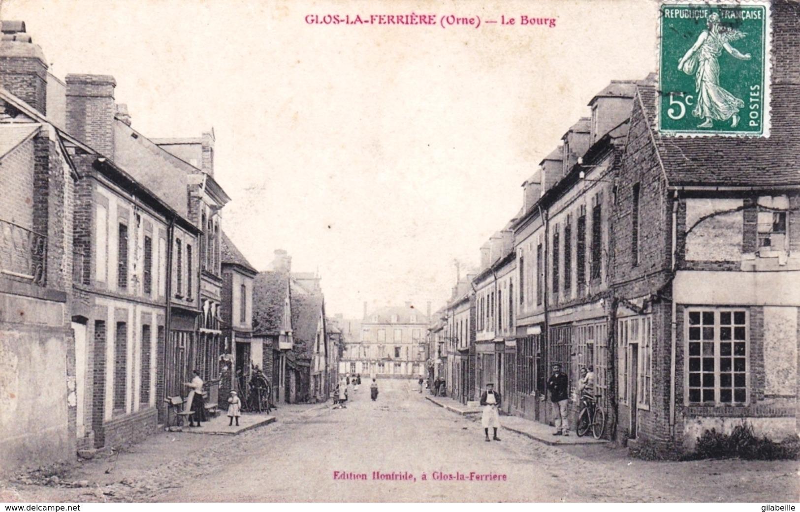 61 - Orne -  GLOS La FERRIERE - Le Bourg - Autres Communes