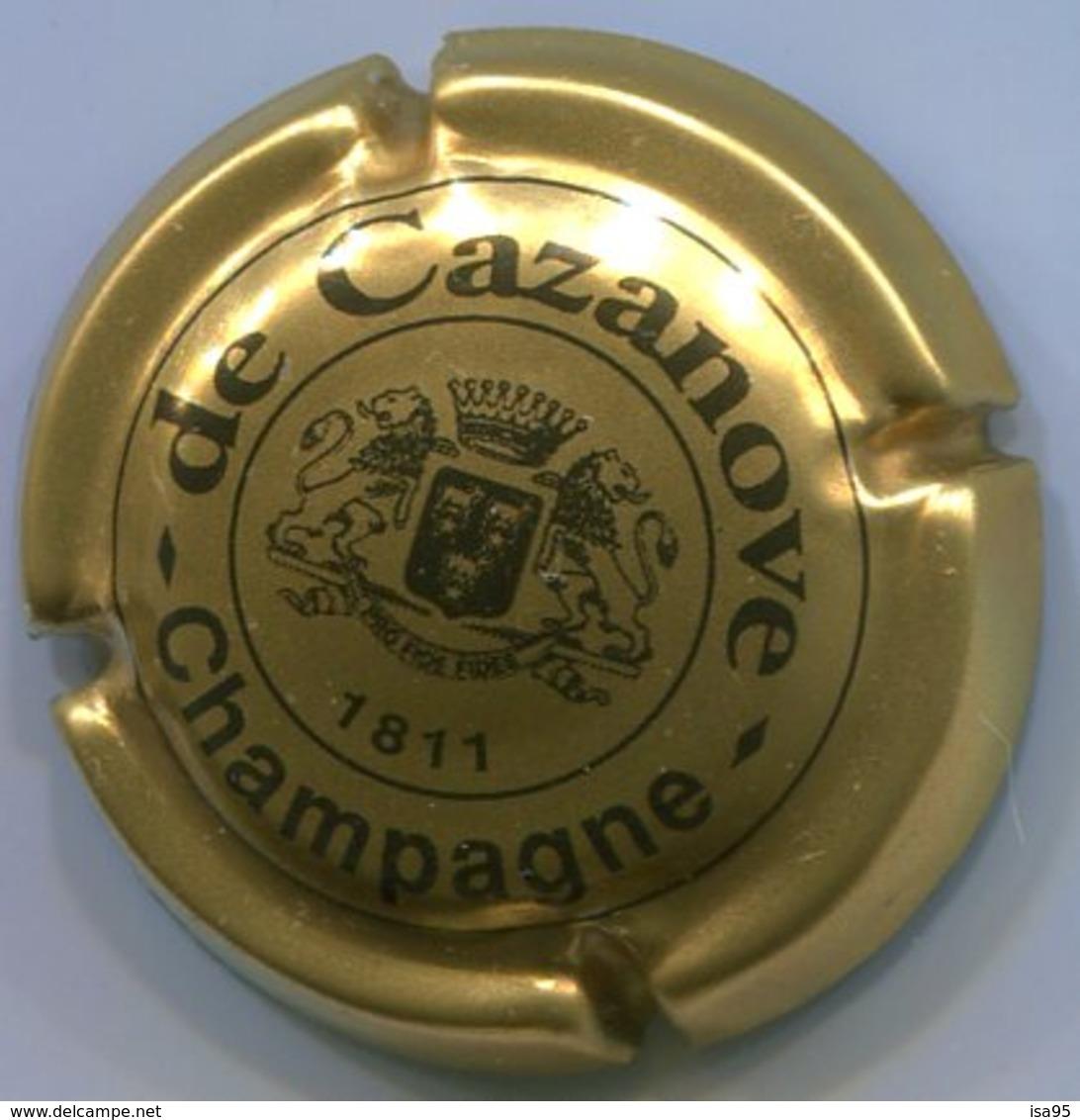CJ-CAPSULE-CHAMPAGNE DE CAZANOVE N°05 Petit écusson - De Cazanove