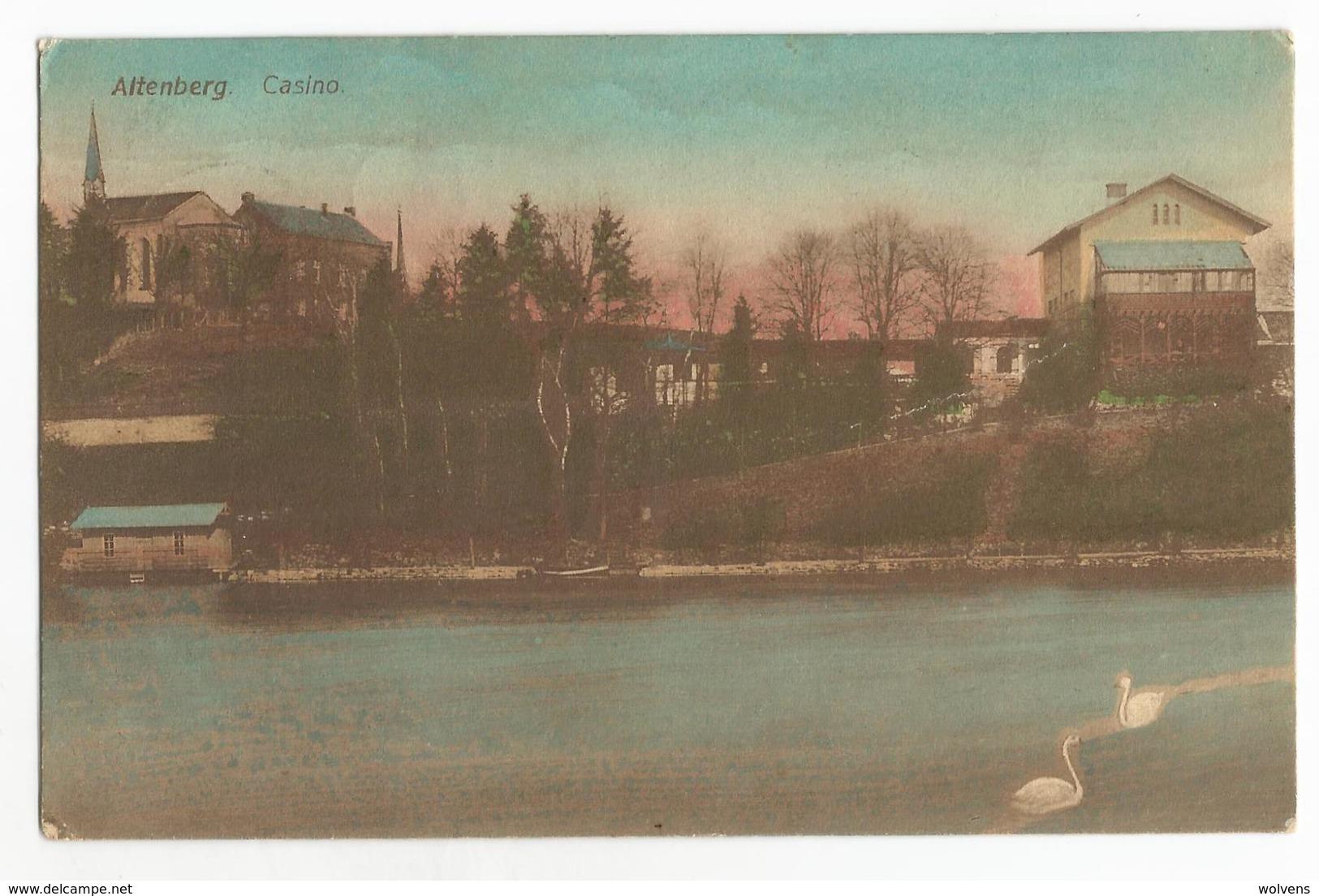 Altenberg Casino Carte Postale Ancienne Kelmis - La Calamine - Kelmis