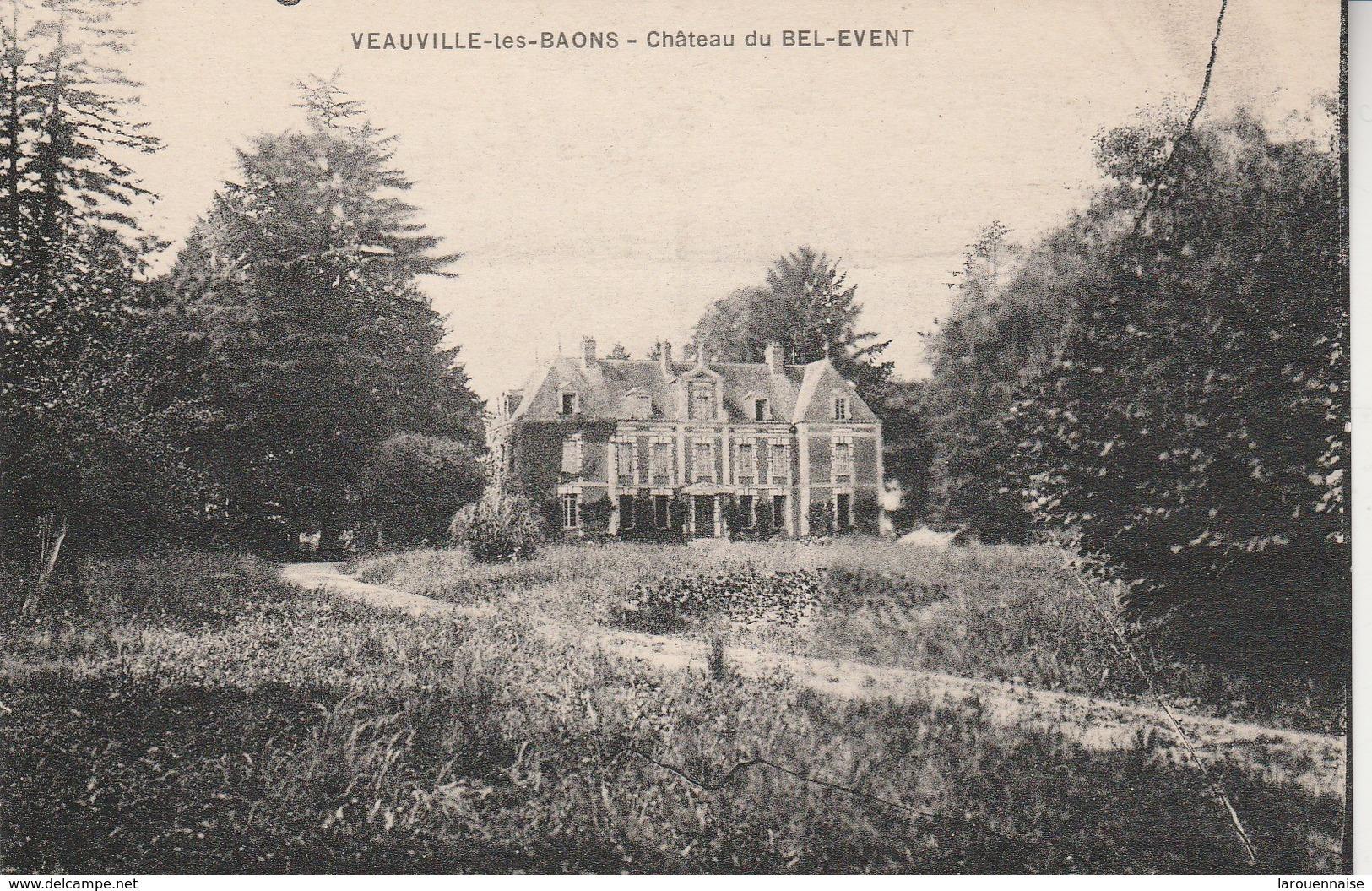76 - VEAUVILLE LES BAONS - Château Du Bel Event - Altri Comuni