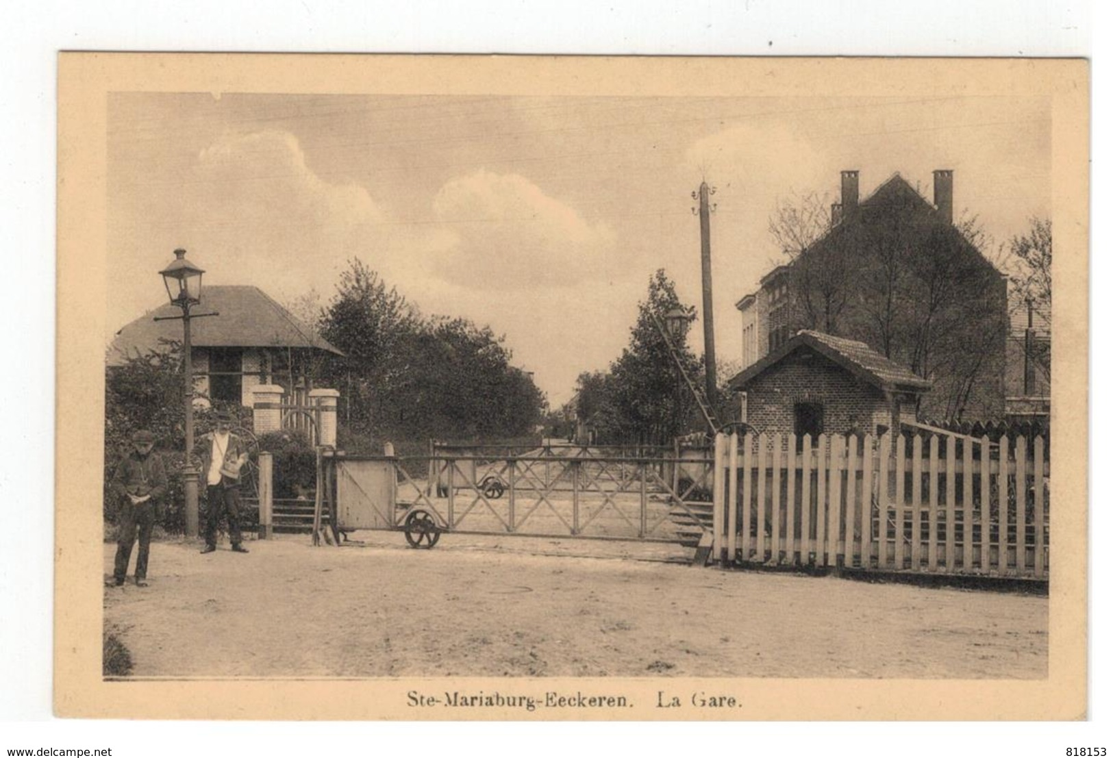Ste-Mariaburg-Eeckeren    La Gare - Antwerpen