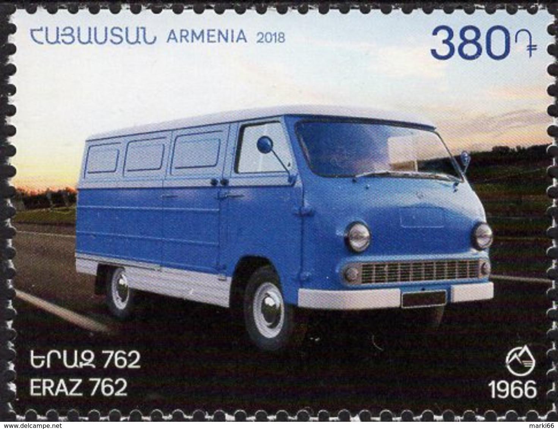 Armenia - 2018 - Automobiles - ERAZ 762 - Mint Stamp - Arménie