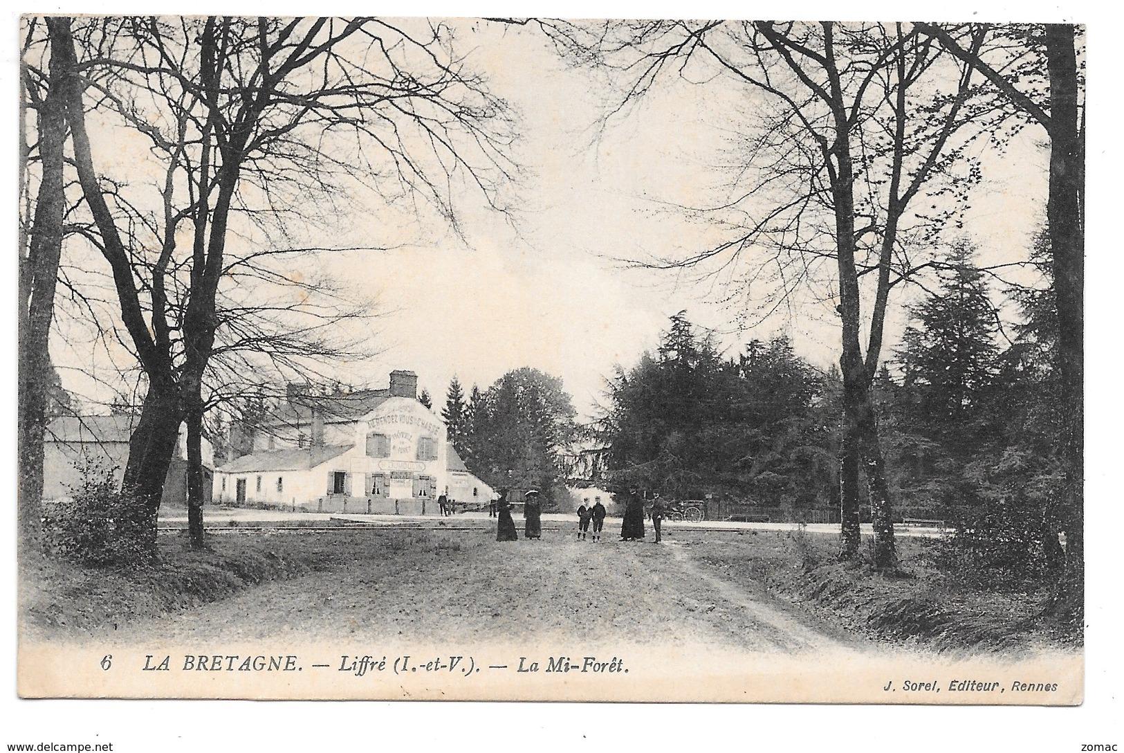 Liffré . - La Mi-Forêt. Hôtel Dumoulin. - Other Municipalities