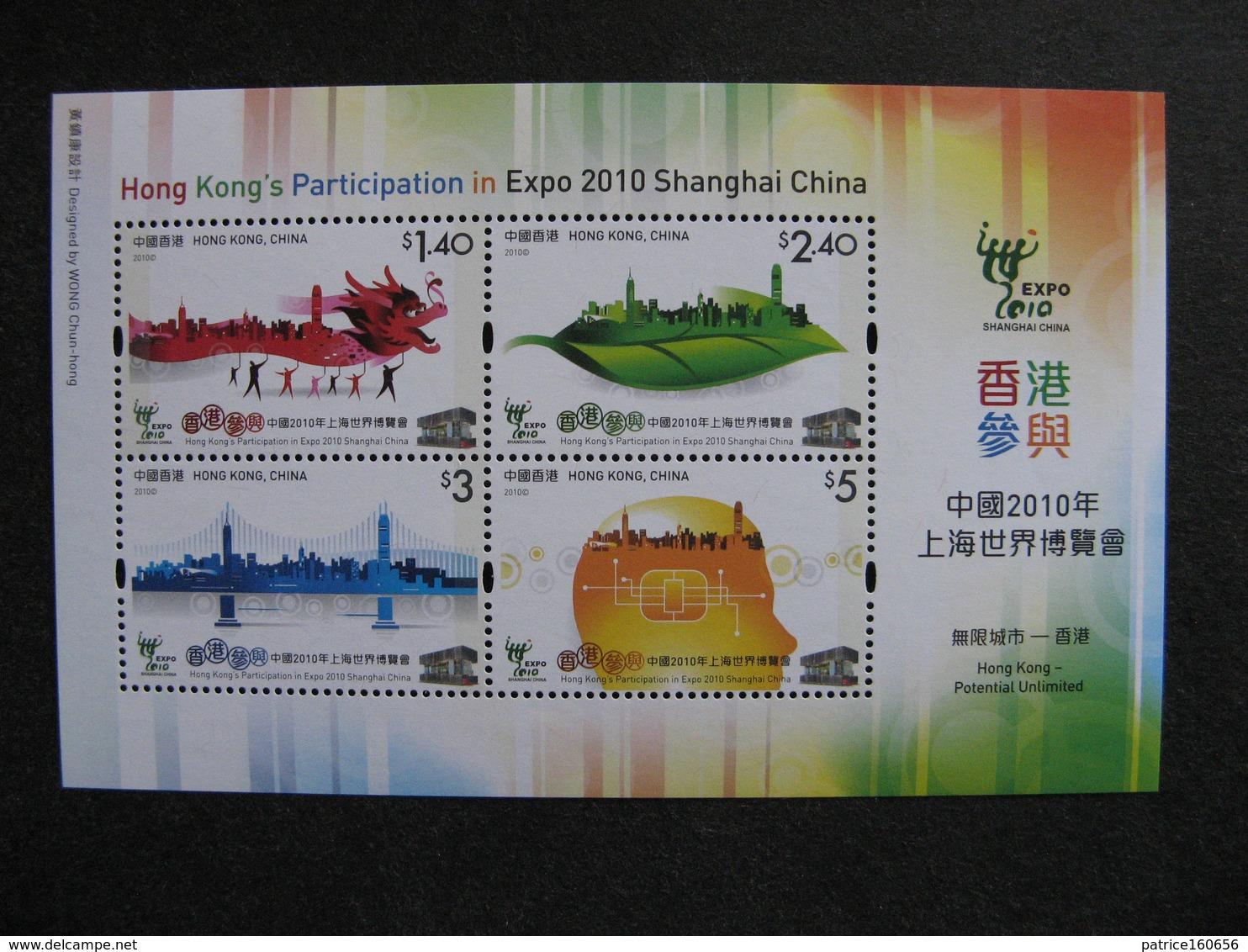 HONG-KONG : TB BF N° 194, Neuf XX. - Blocs-feuillets