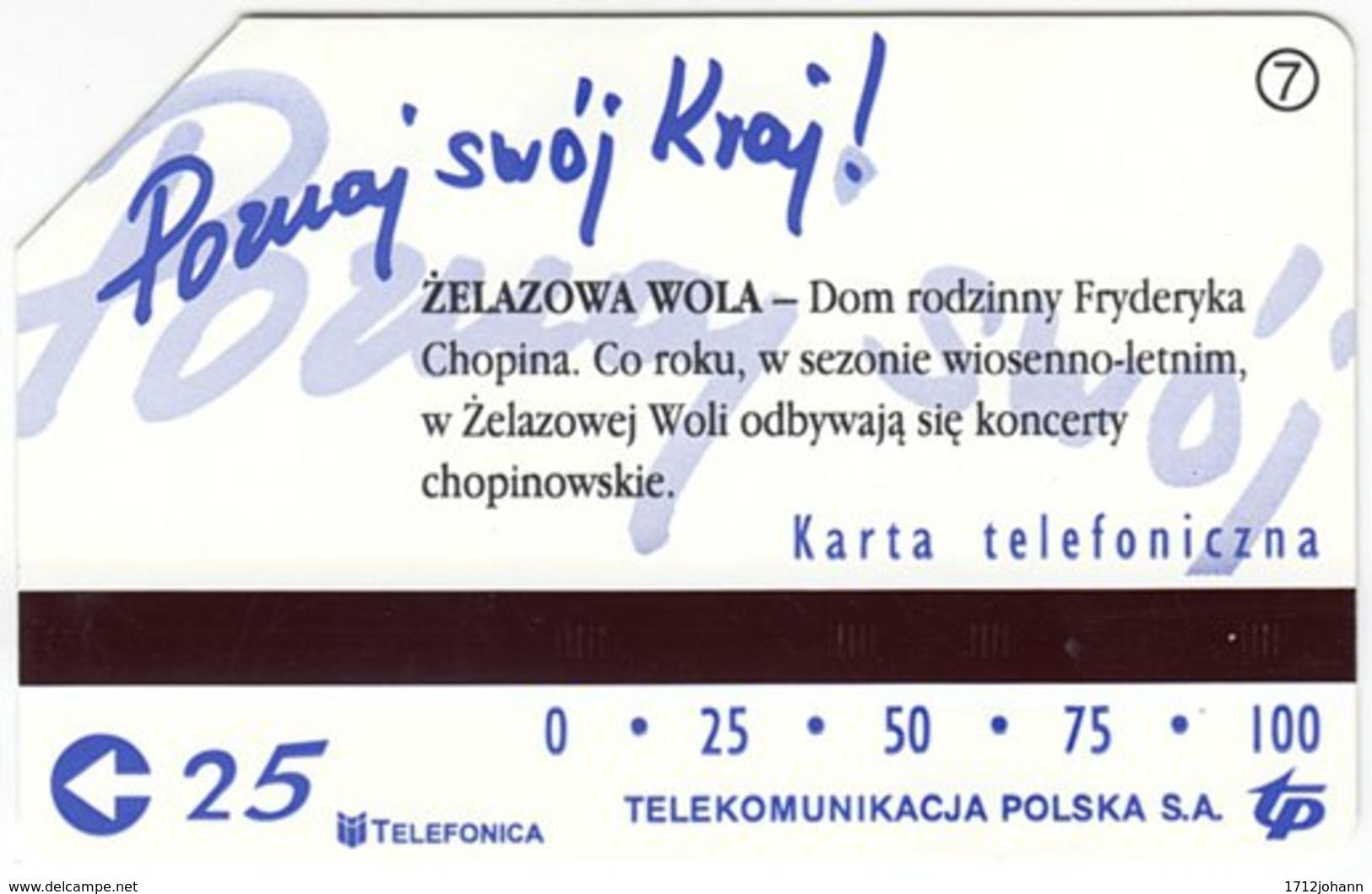 POLAND B-812 Magnetic Telekom - Used - Polen