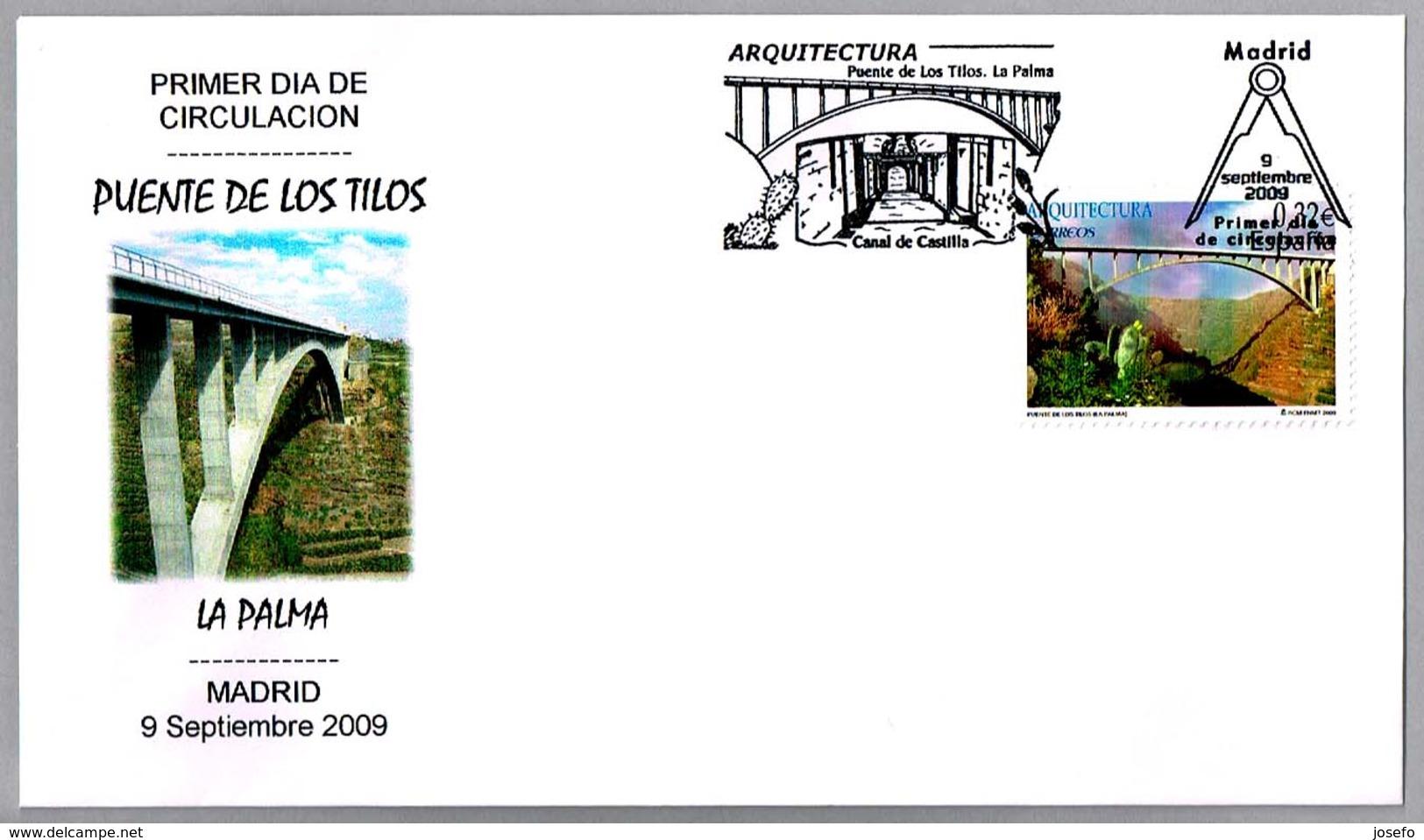 PUENTE DE LOS TILOS - Cactus. SPD/FDC La Palma, Canarias, 2009 - Puentes