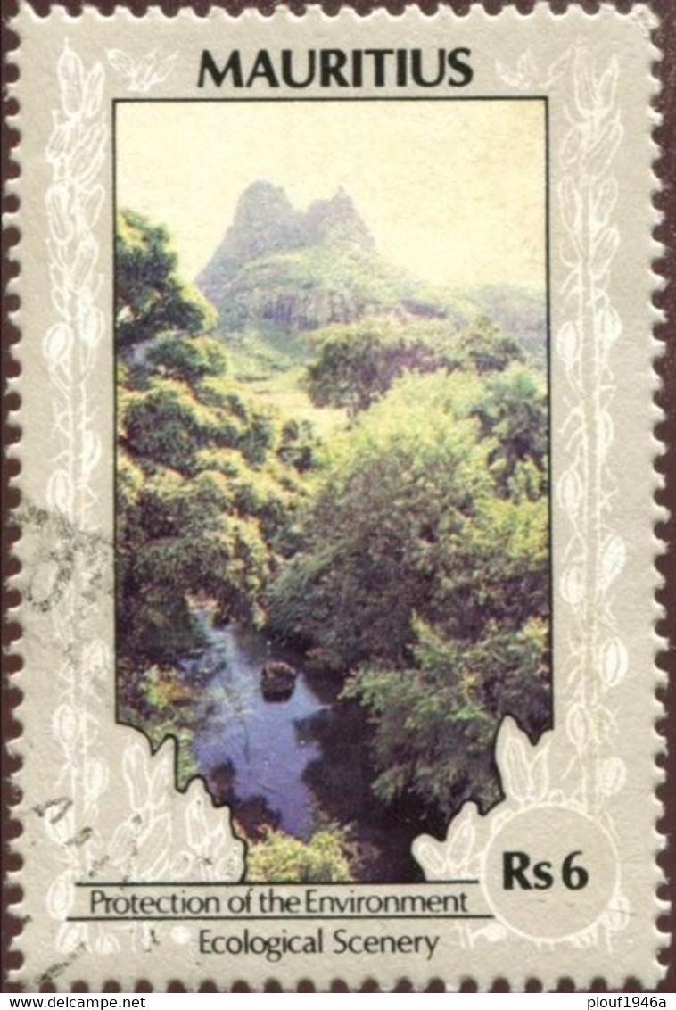 Pays : 320,2 (Maurice (Ile) : Indépendance)  Yvert Et Tellier N° :  710 (o) - Maurice (1968-...)