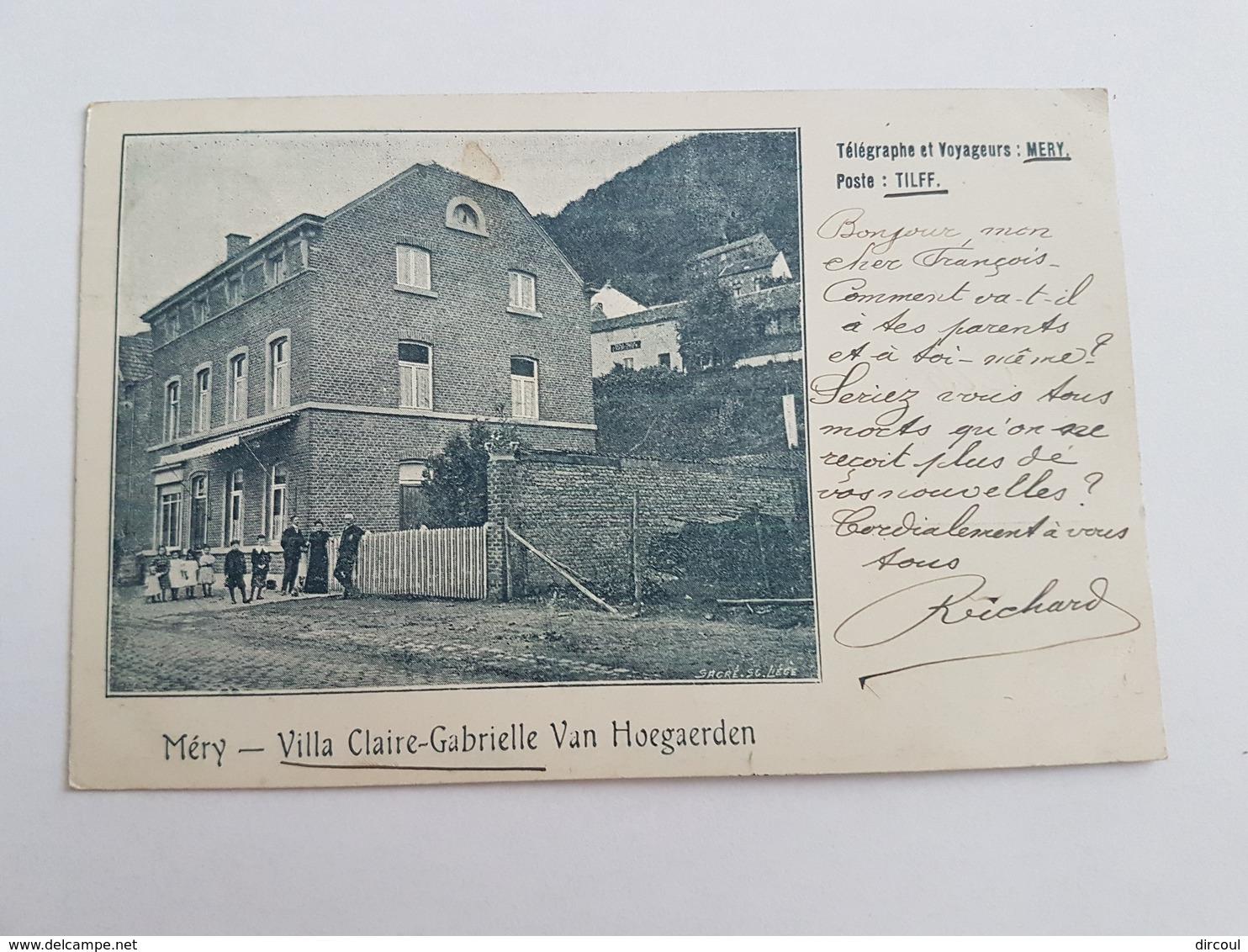 40278  -   Méry  Tillf  Villa  Claire-Gabrielle  Van  Hoegaerden - Esneux