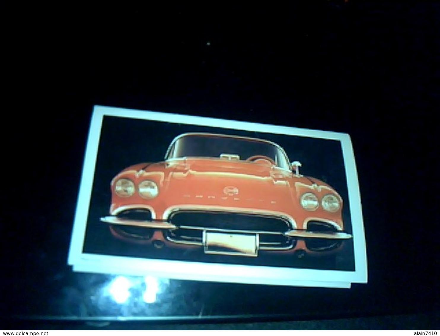 Calendrier Publiciaire De 1996 Albi Recttification Entète Voiture Corvette - Formato Piccolo : 1991-00