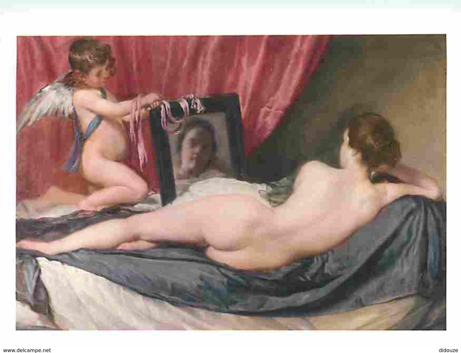 Art - Peinture - Diego Velazquez - The Toilet Of Venus - Femme Nue - Voir Scans Recto-Verso - Tableaux