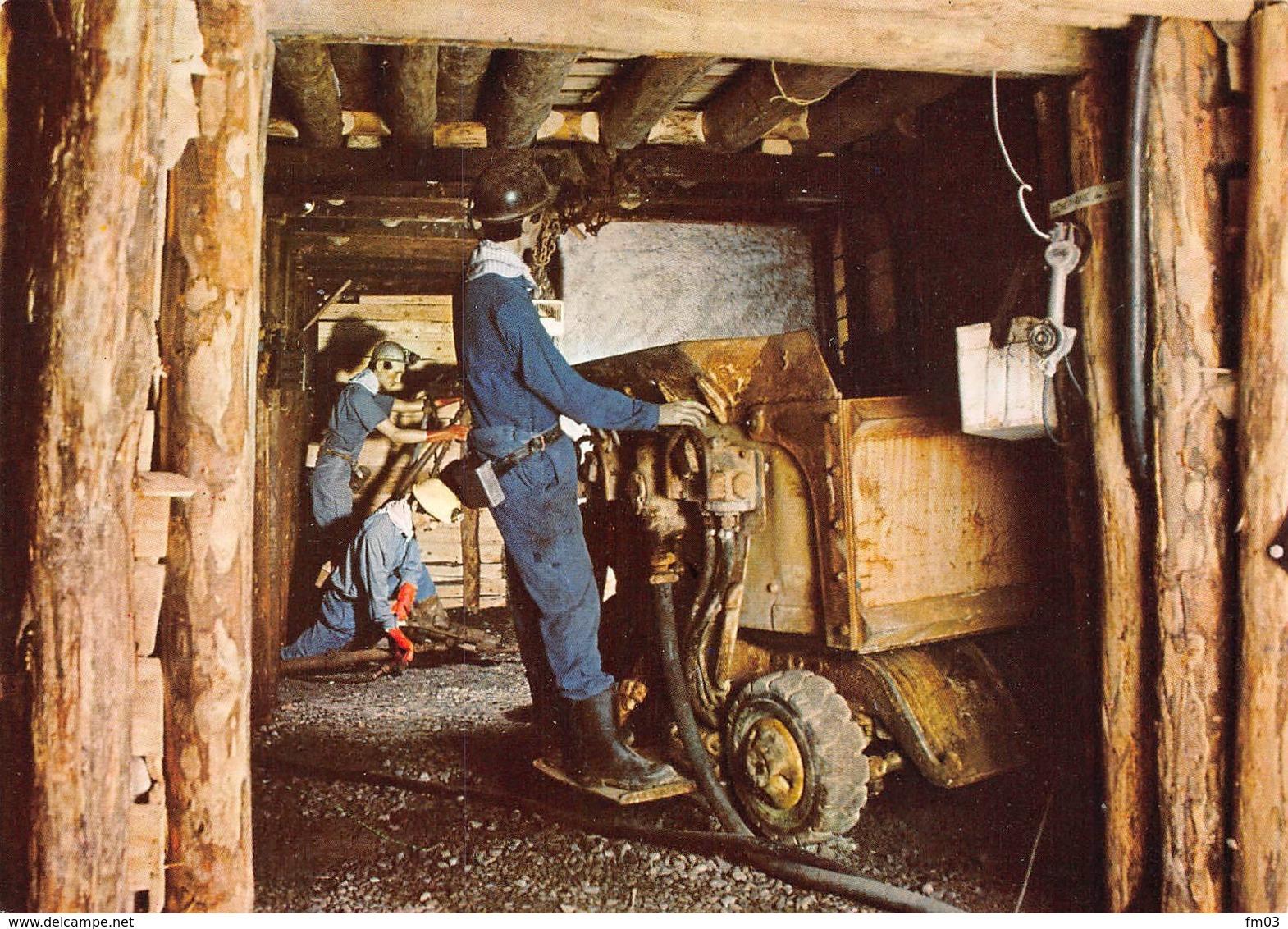 Saint Pierre La Palud Mine Mines Canton L'Arbresle - France