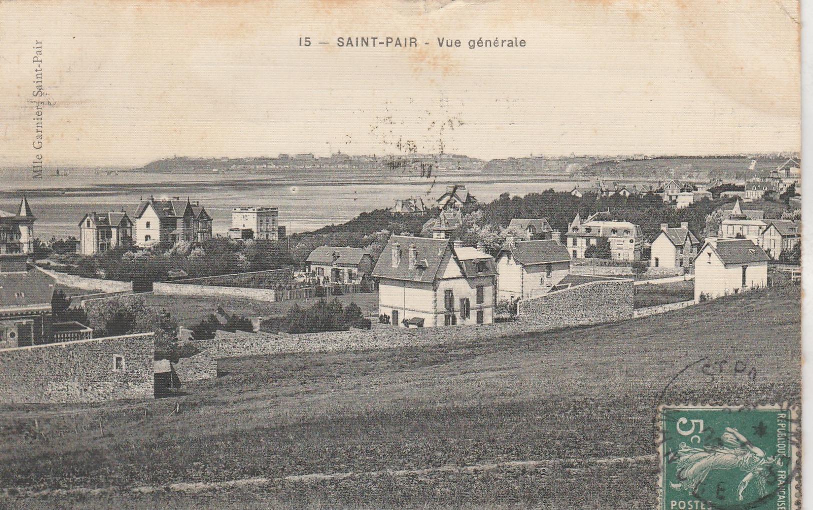Saint Pair Sur Mer ,( Granville , Avranches ), Vue Générale , N° 15 - Saint Pair Sur Mer
