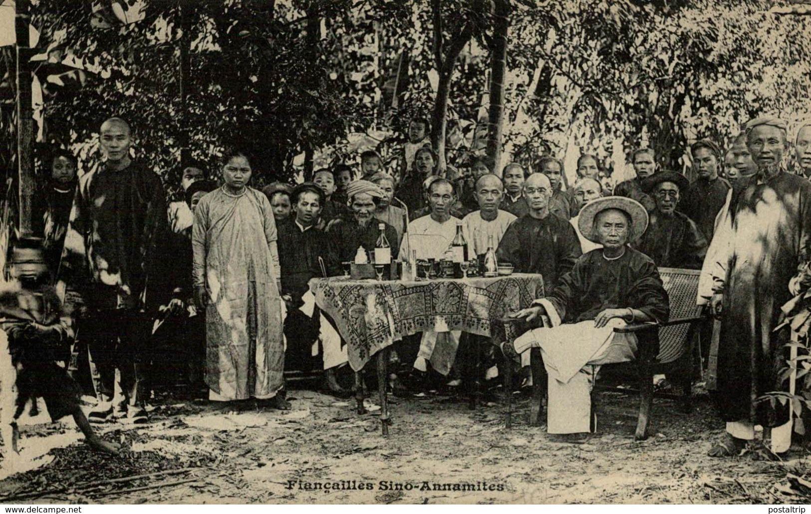 FIANCAILLES SINO ANNAMITES - Vietnam