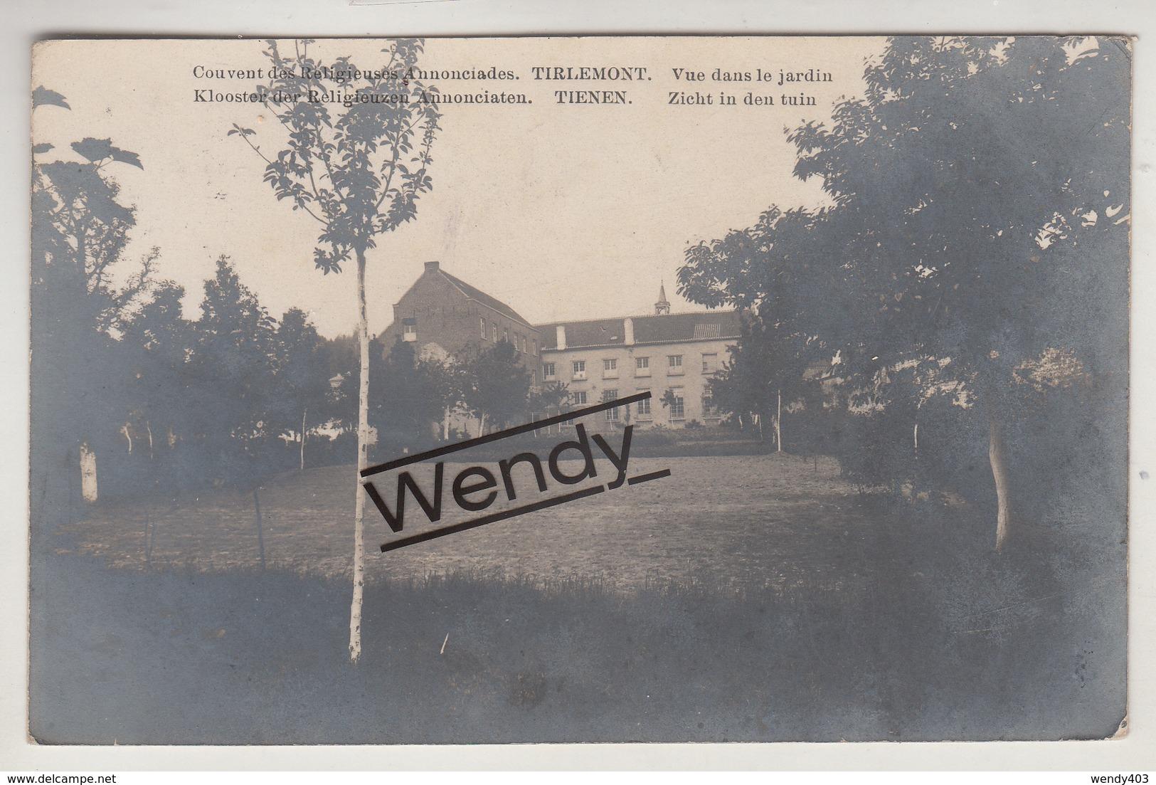 Tienen (klooster - Zicht In De Tuin - Orignele Foto) - Tienen