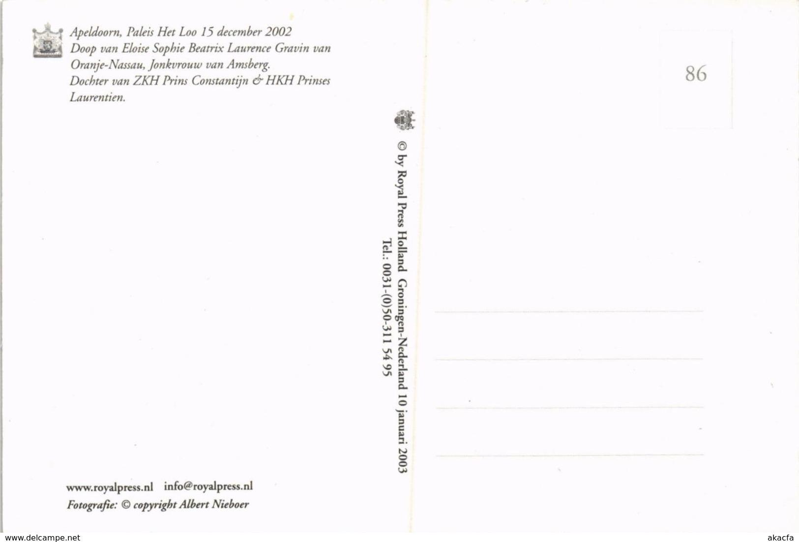 CPM La Famille Royale DUTCH ROYALTY (814764) - Familles Royales