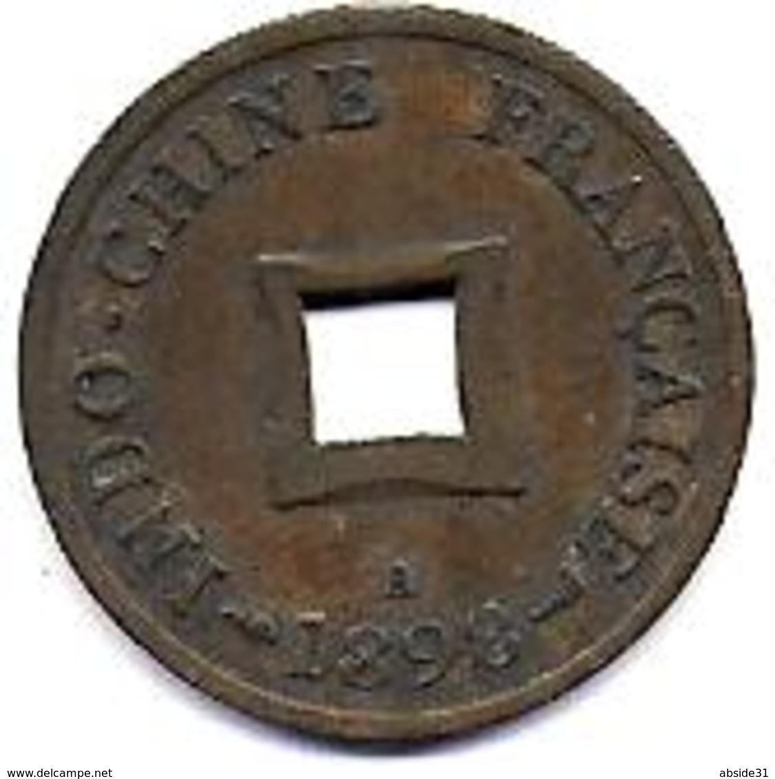 INDO CHINE - Sapèque 1898 A - Colonie