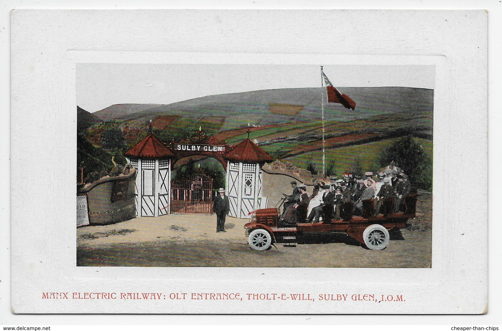 Manx Electric Railway : Olt Entrance, Tholt-E-Will, Sulby Glen, I.O.M. - Isle Of Man