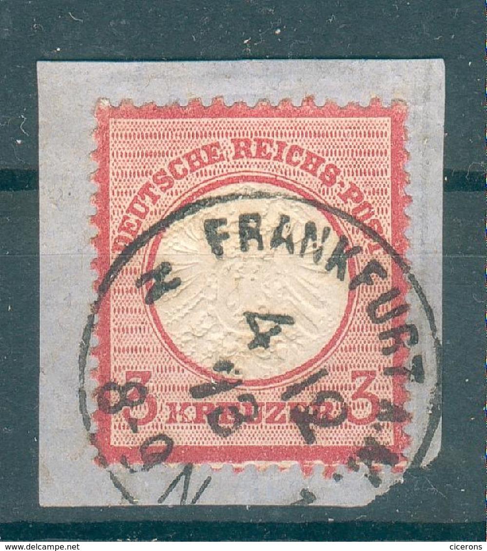 ALLEMAGNE , Empire ; 1872 ; Y&T N° 22 ; Oblitéré - Oblitérés