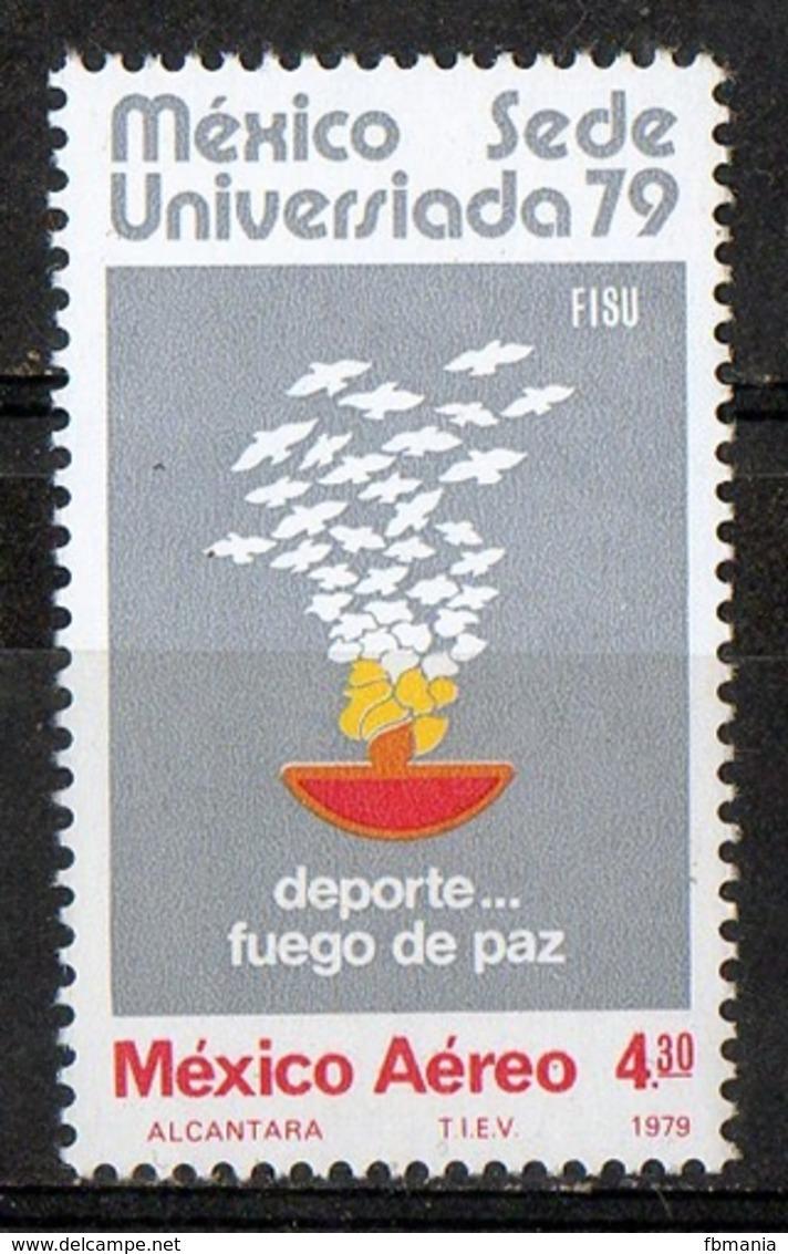 Messico Mexico 1979 - Giochi Universitari Mondiali University World Games 1979  MNH ** - Giochi