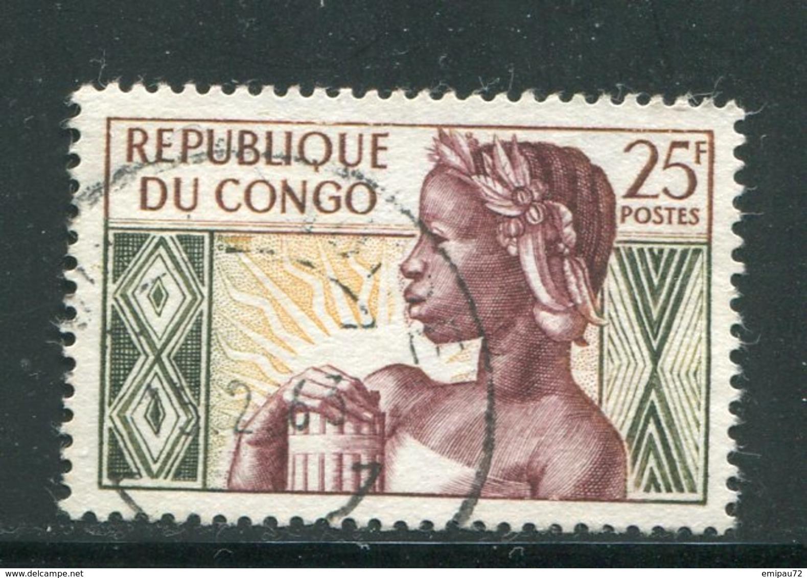 CONGO- Y&T N°135- Oblitéré - Oblitérés