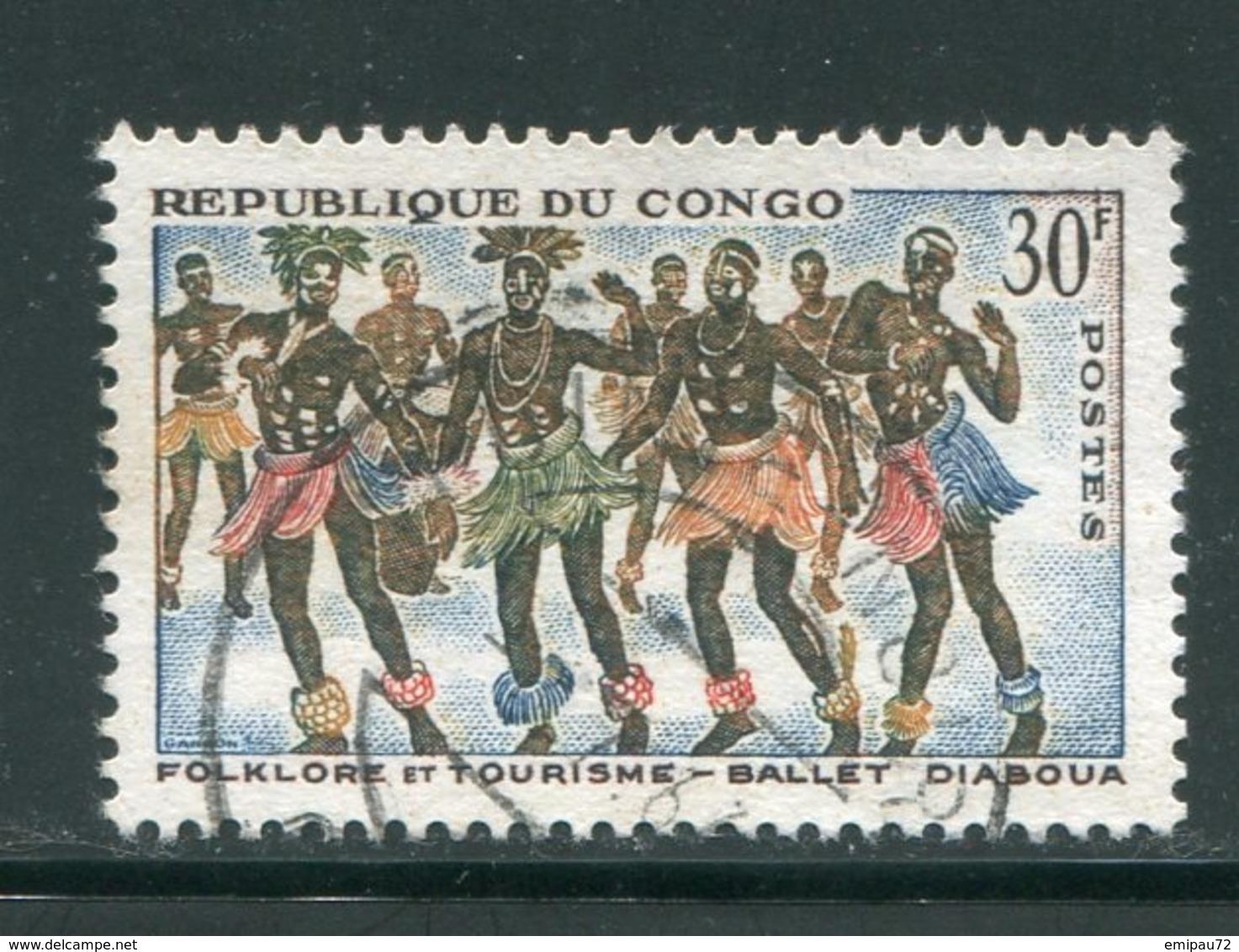 CONGO- Y&T N°164- Oblitéré - Oblitérés