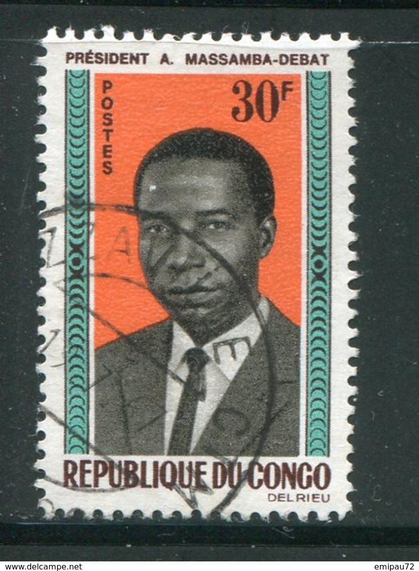 CONGO- Y&T N°174- Oblitéré - Congo - Brazzaville