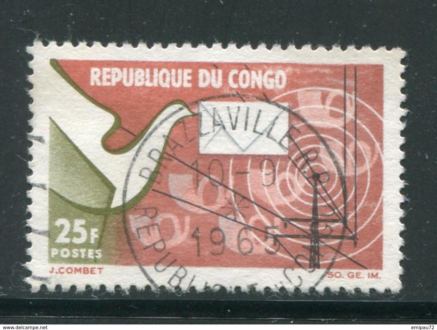 CONGO- Y&T N°171- Oblitéré - Congo - Brazzaville