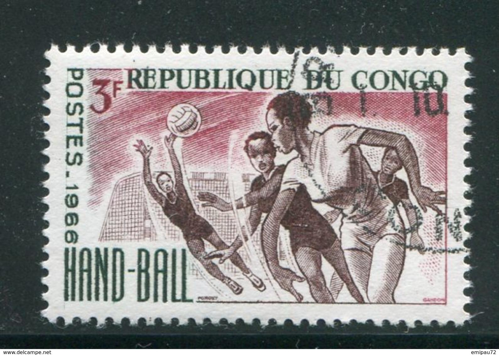 CONGO- Y&T N°191- Oblitéré (hand-ball) - Oblitérés
