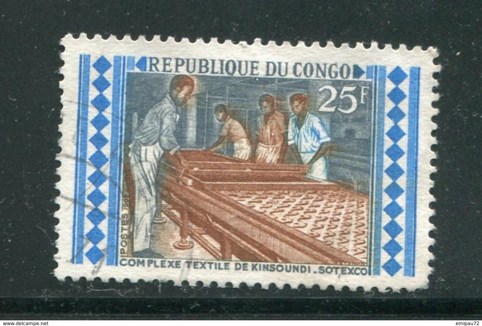 CONGO- Y&T N°268- Oblitéré - Congo - Brazzaville