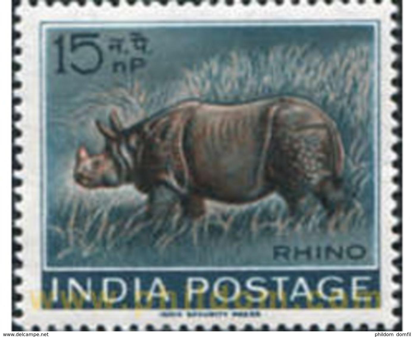Ref. 601718 * MNH * - INDIA. 1963. MAMMALS . MAMIFEROS - Indien