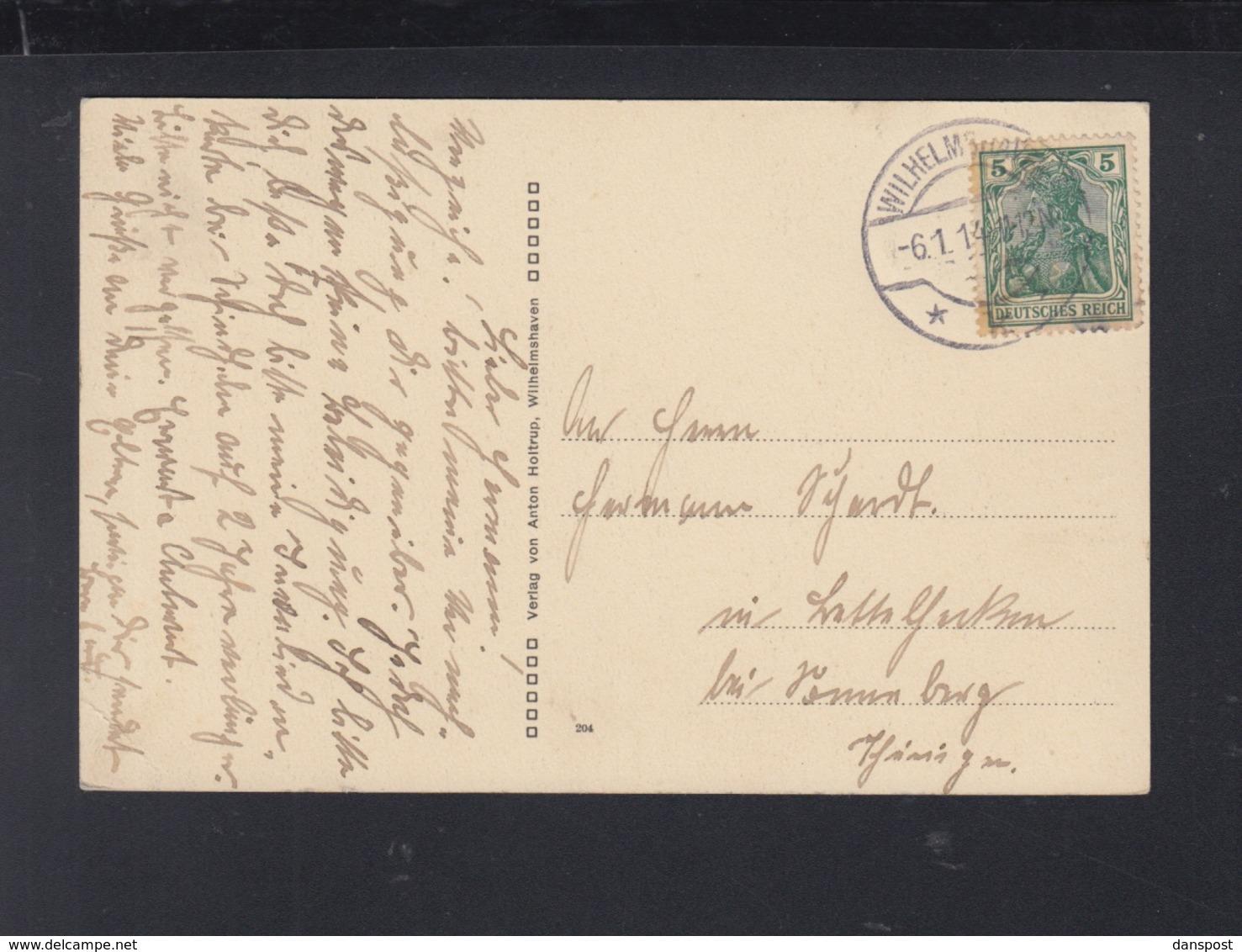 Dt. Reich AK Kantine Am Torpedohafen Wilhelmshaven - Wilhelmshaven