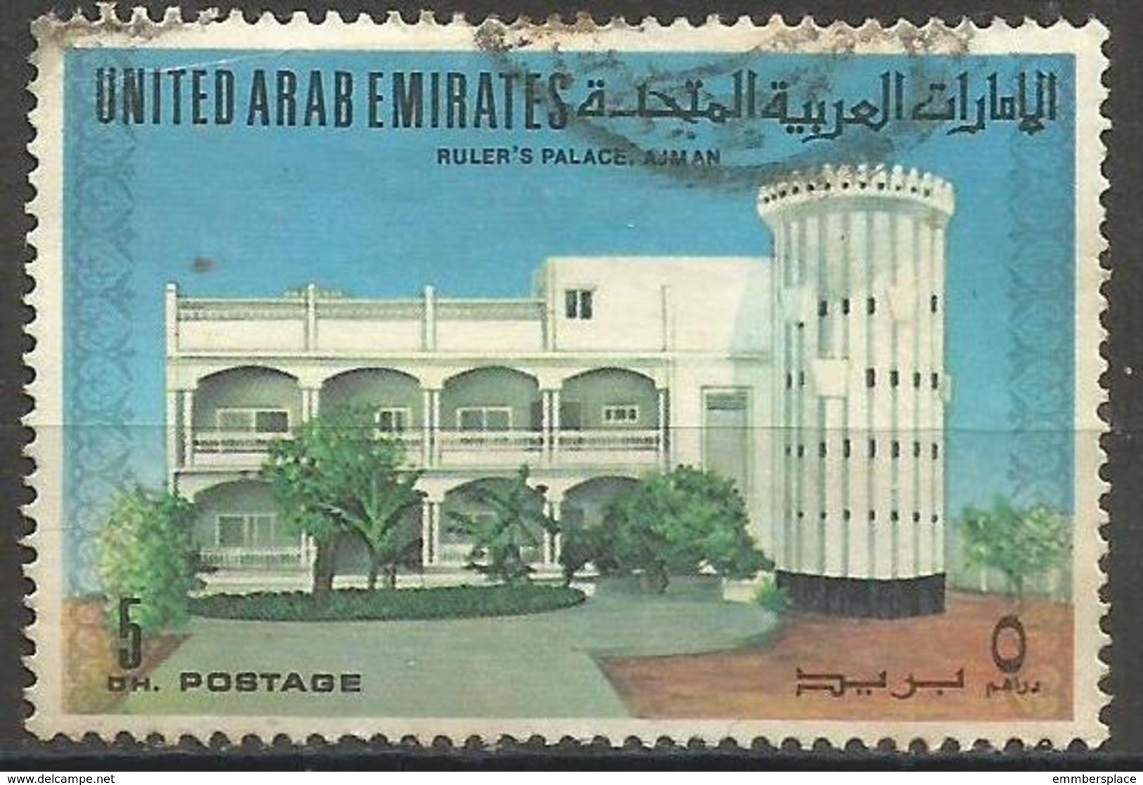 UAE - 1973 Ruler's Palace, Ajman Used  SG 11 - United Arab Emirates