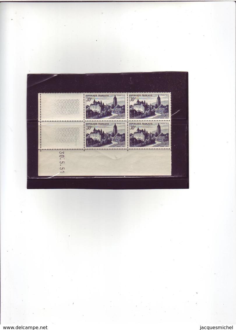 N° 905 - 30F ARBOIS - 1° Tirage Du 26.5.51 Au 11.7.61 - 30.05.1951 - - 1950-1959