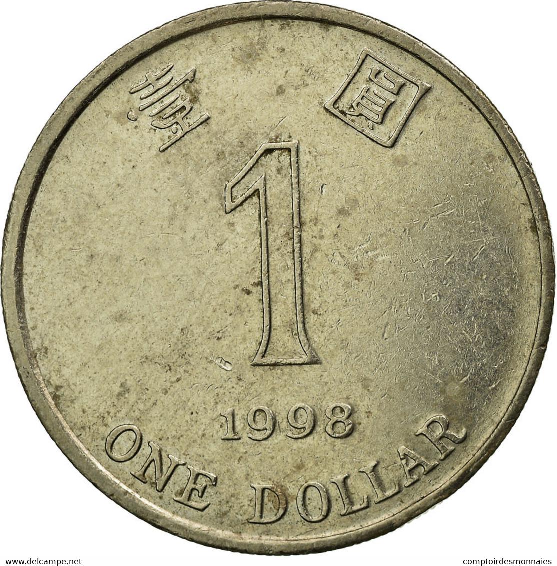 Monnaie, Hong Kong, Elizabeth II, Dollar, 1998, TB+, Copper-nickel, KM:69a - Hong Kong