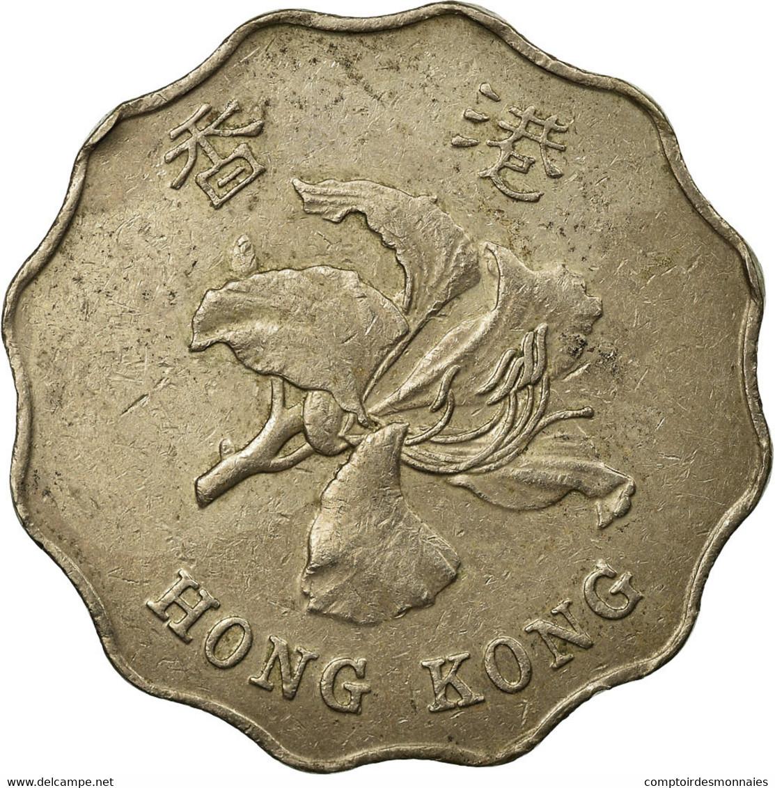 Monnaie, Hong Kong, Elizabeth II, 2 Dollars, 1995, TB+, Copper-nickel, KM:64 - Hong Kong