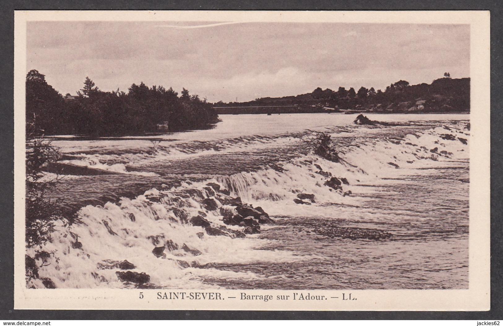101011/ SAINT-SEVER, Barrage De L'Adour - Saint Sever