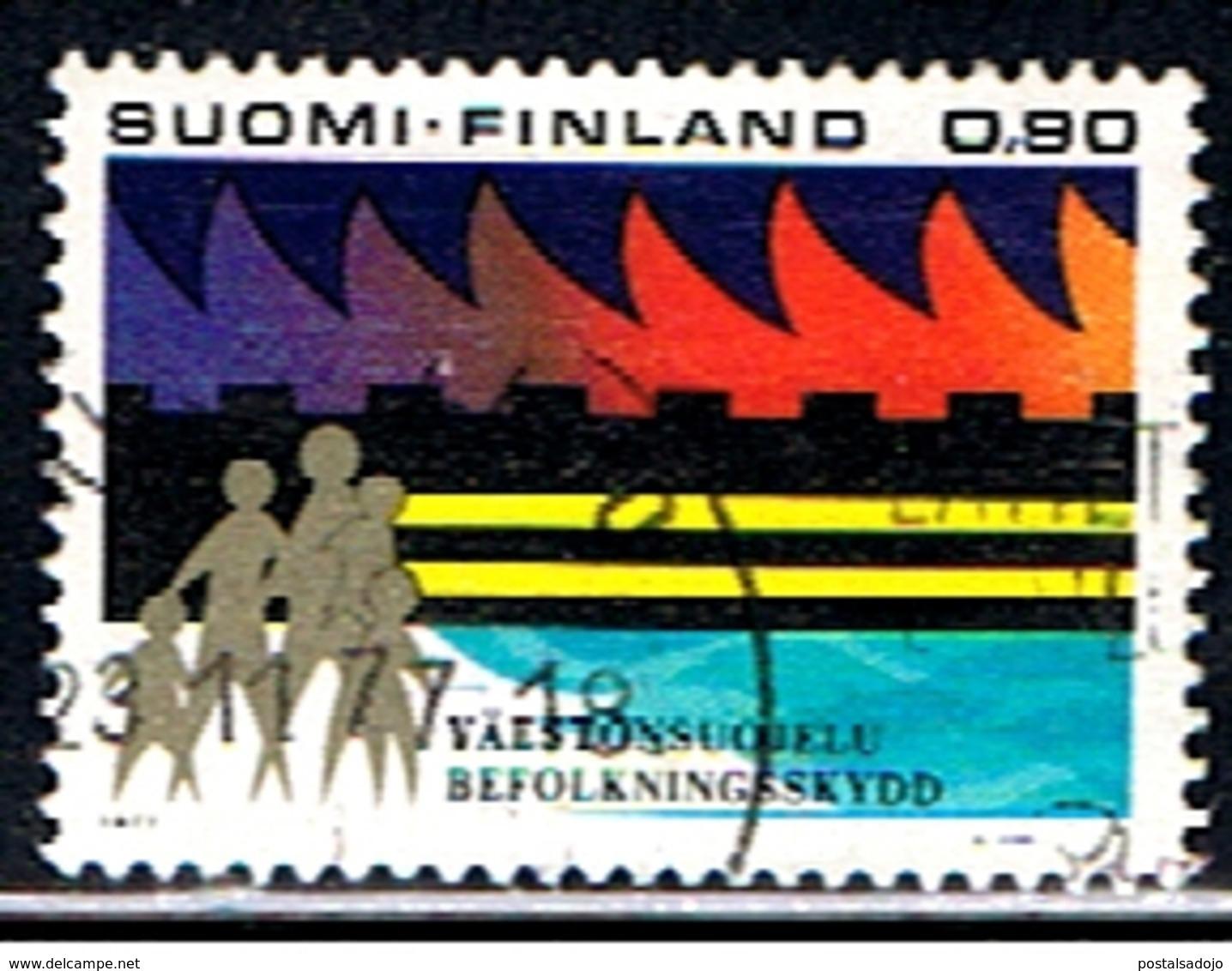 FINLANDIA 191 // YVERT 778 // 1977 - Finlande