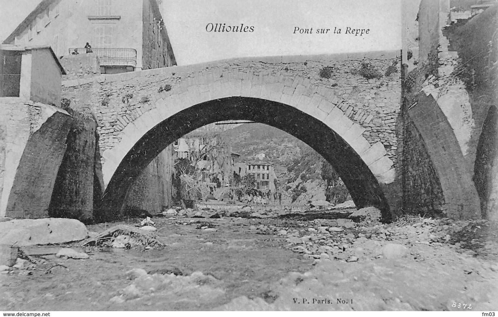 Ollioulles Pont Sur La Reppe - Ollioules
