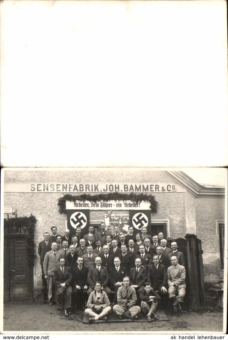 584826,tolle Foto Waidhofen An Der Ybbs Sensenfabrik Joh. Bammer - Weltkrieg 1939-45