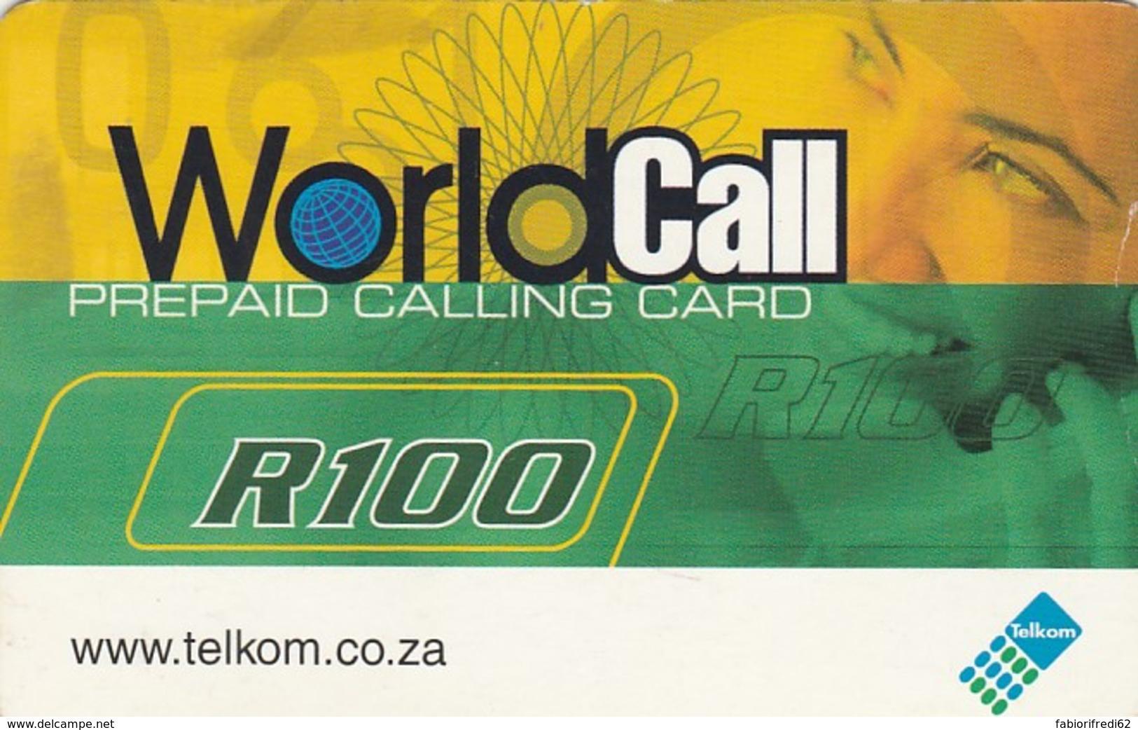 PREPAID PHONE CARD SUDAFRICA (E43.34.4 - Sudafrica