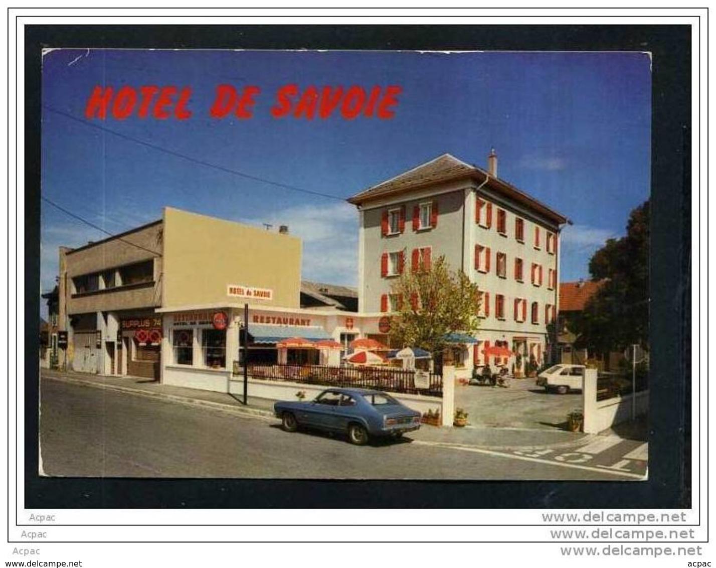 74  ANNEMASSE     ...Hotel De Savoie    ...a - Annemasse